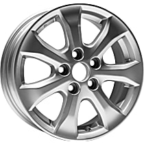 Jante ALY69495U20N Wheel, Aluminum, Silver, 16 in. x 6.5 in., Sold Individually