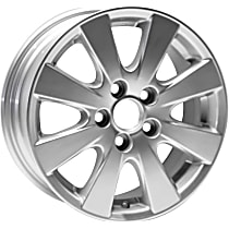 Jante ALY69496U20N Wheel, Aluminum, Silver, 16 in. x 6.5 in., Sold Individually
