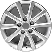 Jante ALY69565U20N Wheel, Aluminum, Silver, 16 in. x 6.5 in., Sold Individually