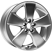 Jante ALY69568U20N Wheel, Aluminum, Silver, 17 in. x 7 in., Sold Individually
