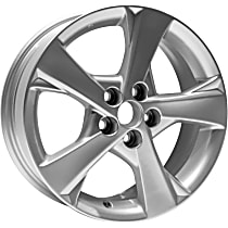 Jante ALY69590U20N Wheel, Aluminum, Silver, 16 in. x 6.5 in., Sold Individually