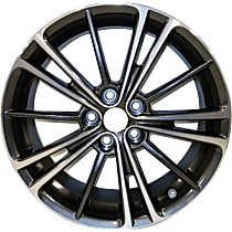 Jante ALY69621U30N Wheel, Aluminum, Charcoal, 17 in. x 7 in., Sold Individually