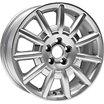 Jante ALY69802U20N Wheel, Aluminum, Silver, 16 in. x 6.5 in., Sold Individually