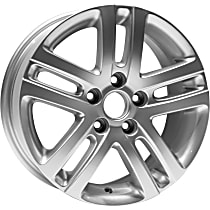 Jante ALY69812U20N Wheel, Aluminum, Silver, 16 in. x 6.5 in., Sold Individually