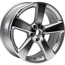 Jante ALY69817U10N Wheel, Aluminum, Silver, 17 in. x 7 in., Sold Individually