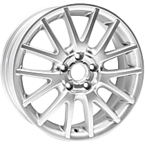 Jante ALY69821U20N Wheel, Aluminum, Silver, 17 in. x 7 in., Sold Individually