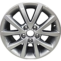 Jante ALY69897U20N Wheel, Aluminum, Silver, 16 in. x 6.5 in., Sold Individually