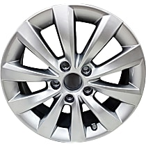 Jante ALY69927U20N Wheel, Aluminum, Silver, 16 in. x 6.5 in., Sold Individually