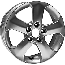 Jante ALY70740U20N Wheel, Aluminum, Silver, 16 in. x 6 in., Sold Individually