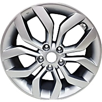 ALY70814U20N Jante Wheel, Aluminum, Silver, 18 in. x 7.5 in., Sold Individually