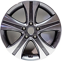 ALY70836U30N Jante Wheel, Aluminum, Gray, 17 in. x 7 in., Sold Individually