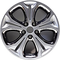 Jante ALY70838U20N Wheel, Aluminum, Silver, 17 in. x 7 in., Sold Individually