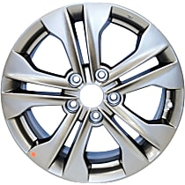 ALY70845U35N Jante Wheel, Aluminum, Charcoal, 17 in. x 7 in., Sold Individually