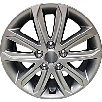 ALY70859U20N Jante Wheel, Aluminum, Silver, 16 in. x 6.5 in., Sold Individually