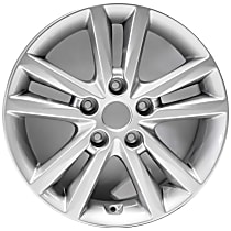 ALY70866U20N Jante Wheel, Aluminum, Silver, 16 in. x 6.5 in., Sold Individually