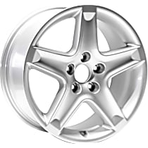 Jante ALY71733U20N Wheel, Aluminum, Silver, 17 in. x 8 in., Sold Individually