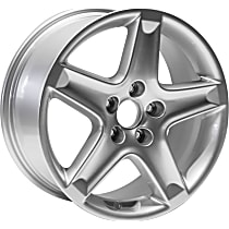 Jante ALY71749U20N Wheel, Aluminum, Silver, 17 in. x 8 in., Sold Individually