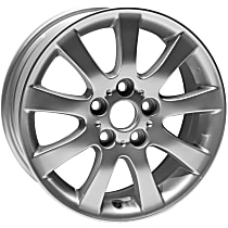 Jante ALY74162U20N Wheel, Aluminum, Silver, 16 in. x 6.5 in., Sold Individually