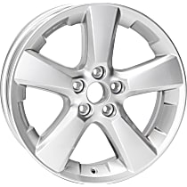Jante ALY74171U20N Wheel, Aluminum, Silver, 18 in. x 7 in., Sold Individually