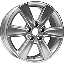 Jante ALY74182U20N Wheel, Aluminum, Silver, 17 in. x 7 in., Sold Individually