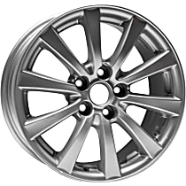 Jante ALY74188U20N Wheel, Aluminum, Silver, 17 in. x 8 in., Sold Individually
