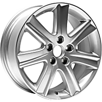 Jante ALY74190U20N Wheel, Aluminum, Silver, 17 in. x 7 in., Sold Individually
