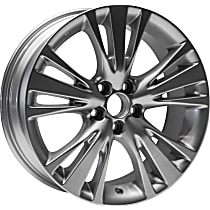 Jante ALY74254U20N Wheel, Aluminum, Silver, 19 in. x 7.5 in., Sold Individually