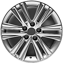 Jante ALY74276U20N Wheel, Aluminum, Silver, 17 in. x 7 in., Sold Individually