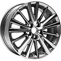 Jante ALY75150U30N Wheel, Aluminum, Charcoal, 16 in. x 6.5 in., Sold Individually
