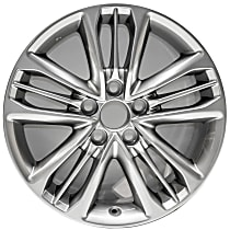 Jante ALY75171U35N Wheel, Aluminum, Gray, 17 in. x 7 in., Sold Individually