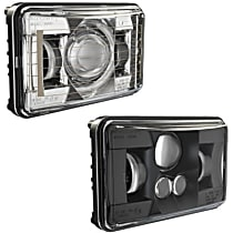 0551381 Driver and Passenger Side LED Headlight, With bulb(s)
