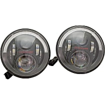 0554543 Driver and Passenger Side LED Headlight, With bulb(s)