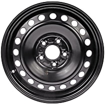 STL03876U45N Wheel, Steel, Black, 16 in. x 6.5 in., Sold Individually
