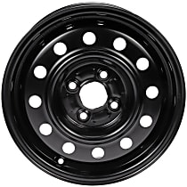 AutoWheels STL07027U45N Wheel, Steel, Black, 14 in. x 5.5 in., Sold Individually