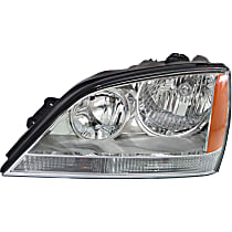 Driver Side Headlight, With bulb(s) - Models Without Sport Package
