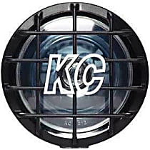 KC Hilites 1100 Offroad Light - Black, Steel, Sold individually
