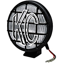 KC Hilites 1152 Offroad Light - Black, PolyMax, Sold individually