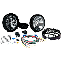 KC Hilites 127 Offroad Light - Powdercoated Black, Steel, Set of 2