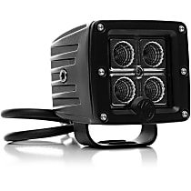 Offroad Light - Powdercoated Black, Aluminum, Sold individually
