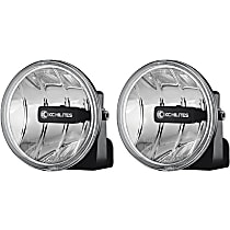 KC Hilites 493 Offroad Light - Powdercoated Black, Aluminum, Set of 2