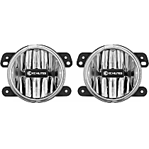 494 Front, Driver and Passenger Side Fog Light, With bulb(s)