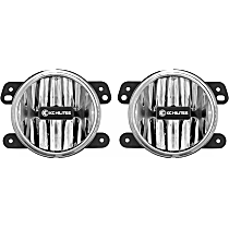 497 Front, Driver and Passenger Side Fog Light, With bulb(s)