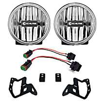 502 Front, Driver and Passenger Side Fog Light, With bulb(s)