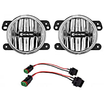 507 Front, Driver and Passenger Side Fog Light, With bulb(s)