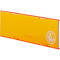 72021 Offroad Light Cover - Amber, Acrylic, Universal, Sold individually