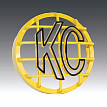 KC Hilites 7213 Light Guard - Yellow, ABS Plastic, Universal