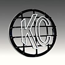 KC Hilites 7214 Light Guard - Black, ABS Plastic, Universal