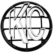 KC Hilites 7216 Light Guard - Black, ABS Plastic, Universal