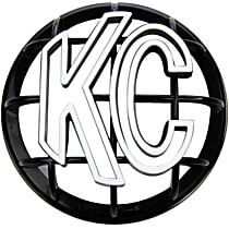 KC Hilites 7217 Light Guard - Black, ABS Plastic, Universal