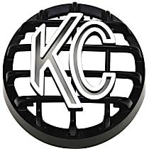 KC Hilites 7219 Light Guard - Black And White, ABS Plastic